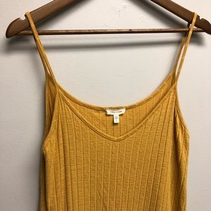 Urban Outfitter  silence + noise Ribbed Swing Top